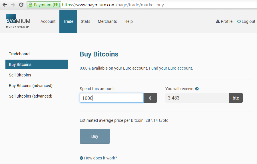 Market Orders - Buy / Sell Bitcoins Easily & Instantly